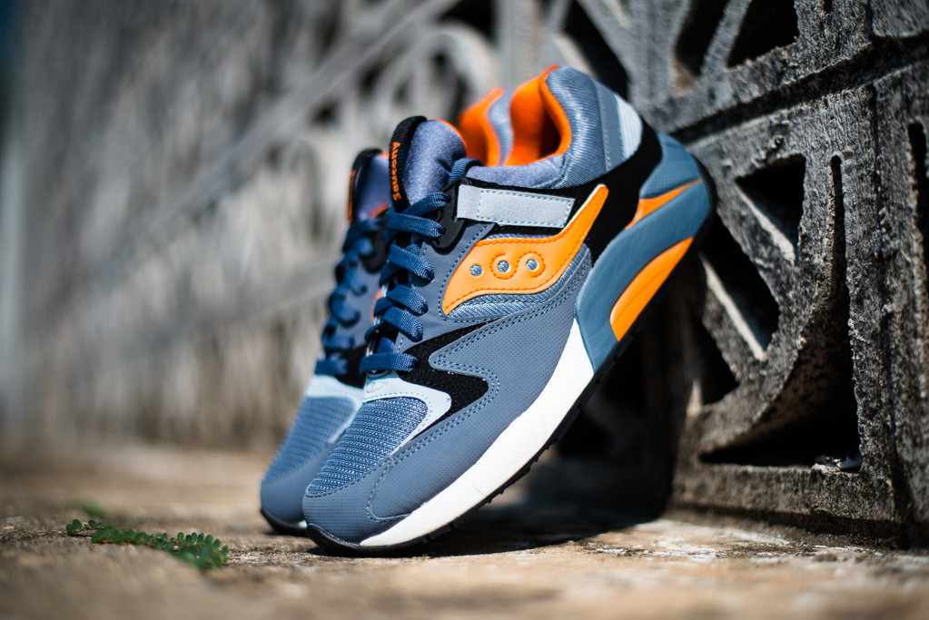 saucony grid 9000 blue orange