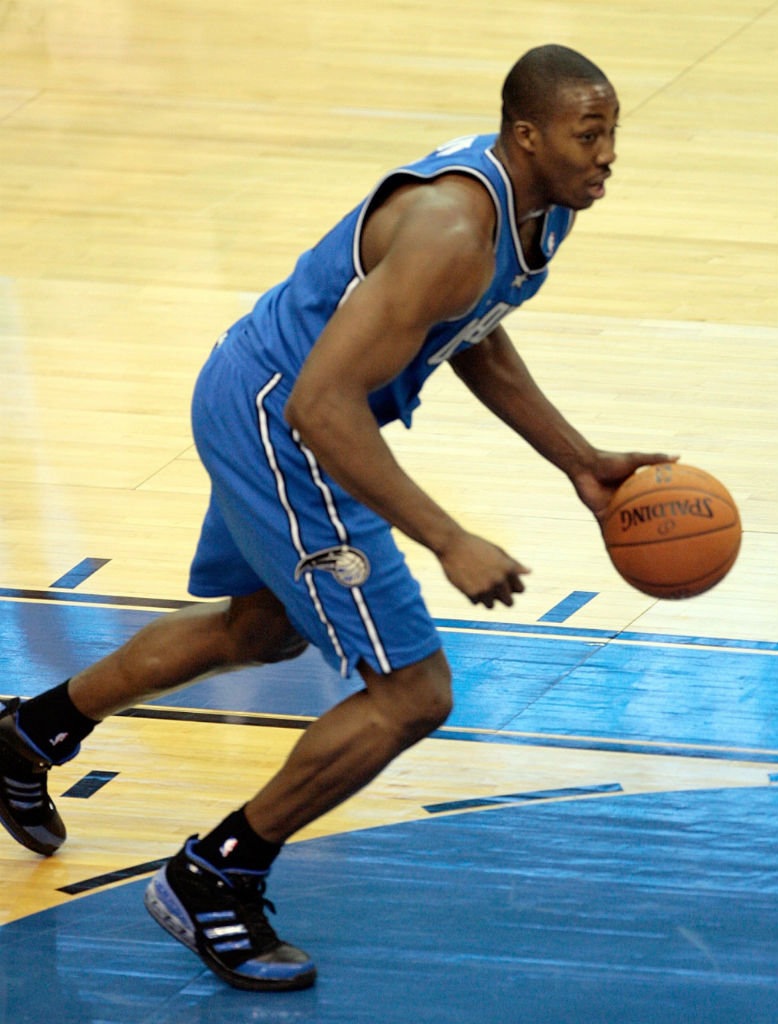 91dd2a404 Dwight Howard s Orlando Magic adidas Sneaker History - adidas Bounce  Artillery Away (2)