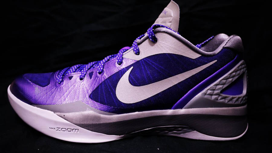 0fddf59c78f6 Nike Zoom Hyperdunk 2011 Low PE Club Purple Cool Grey Metallic Silver  487637-500 (
