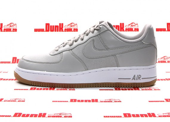 nike air force 1 grey gum sole