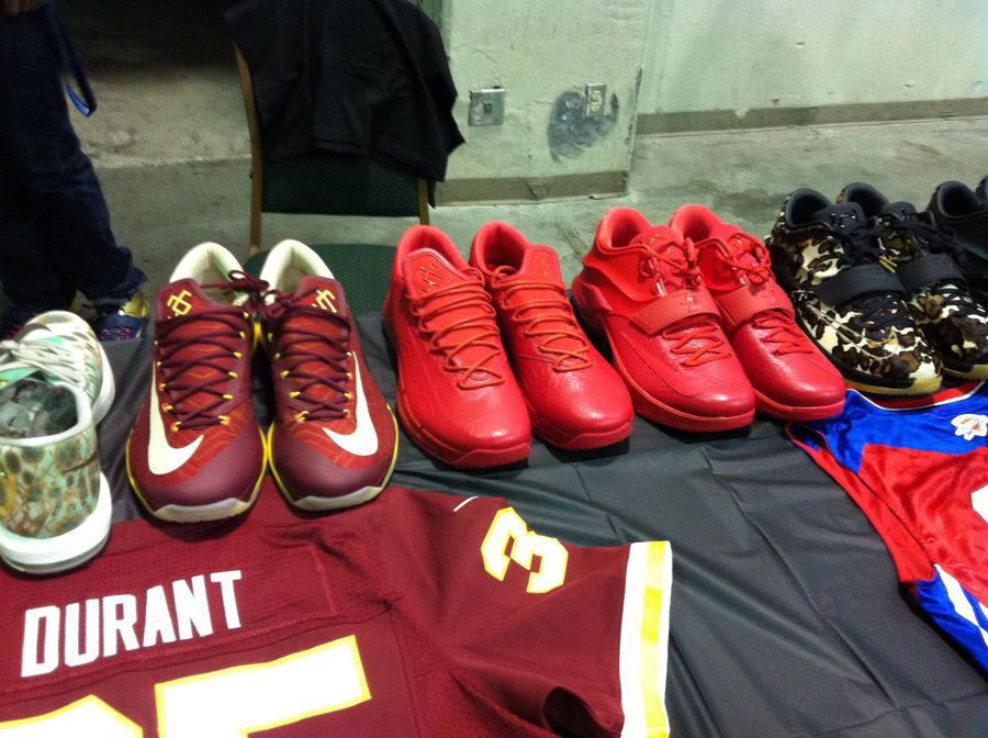 Randy Williams Displays Rare Nike KD Shoes (4)