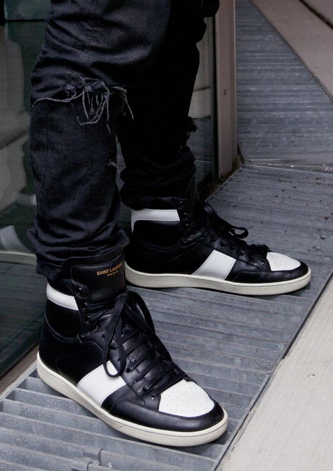 sneaker fashion week saint laurent paris sole collector. Black Bedroom Furniture Sets. Home Design Ideas