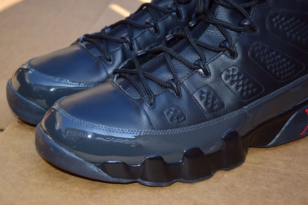 watch e7683 9d49a Air Jordan IX 9 Jason Kidd Away PE (6)