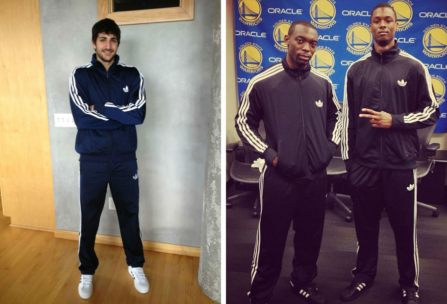 adidas Basketball Celebrates National Tracksuit Day // Ricky Rubio, Charles Jenkins & Harrison Barnes