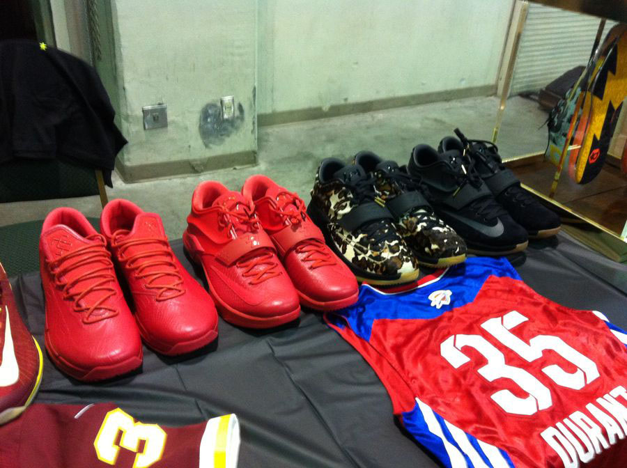 Randy Williams Displays Rare Nike KD Shoes (3)