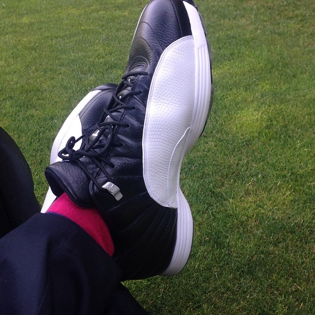 Air Jordan XII 12 Playoff Golf Shoes