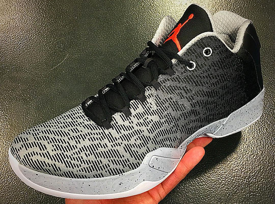 Air Jordan XX9 Low Black/Infrared 23-Wold Grey-White Release Date 828051-003