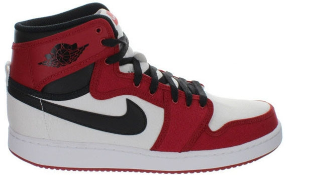 Air Jordan 1 Retro KO High OG White/Black-Gym Red