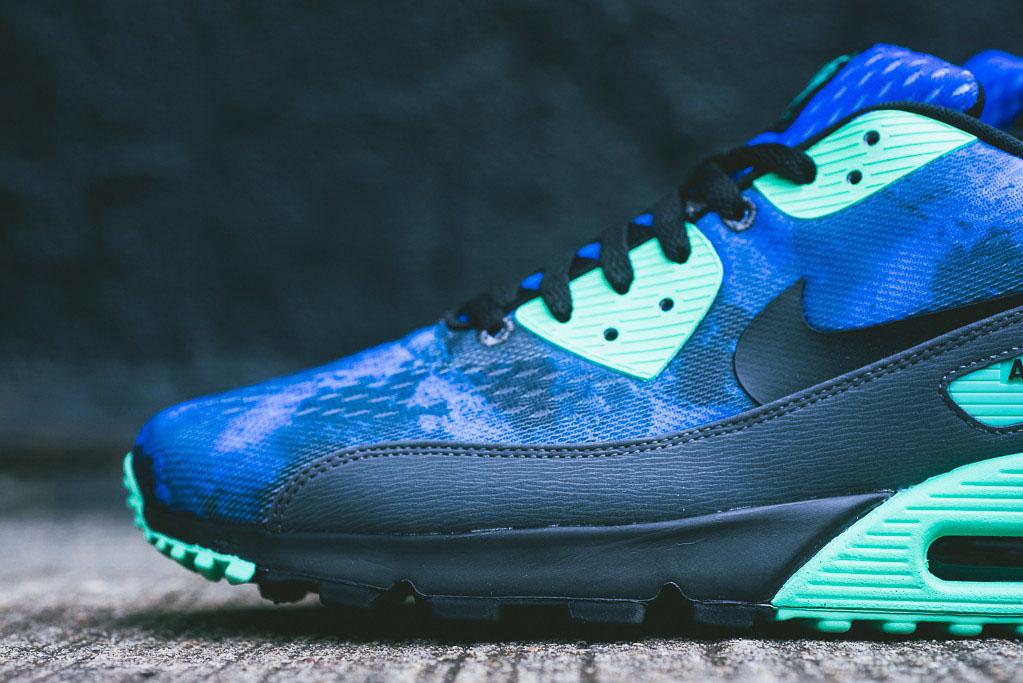 Nike Air Max 90 Green And Blue