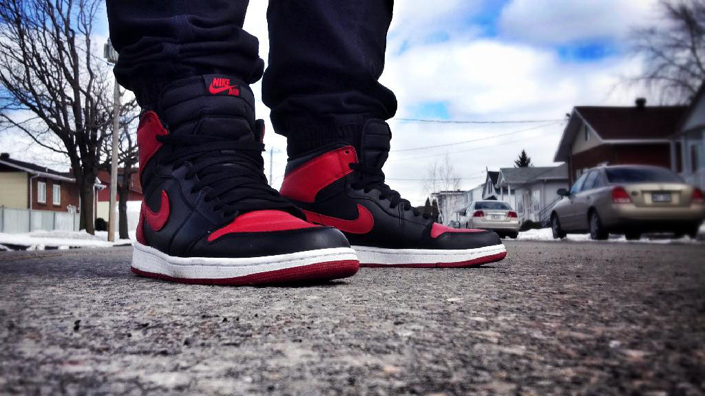 Spotlight: Forum Staff Weekly WDYWT? - 4.20.14 - Shooter wearing Air Jordan I 1 Bred