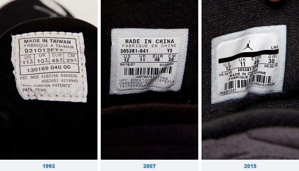See How the 'Aqua' Air Jordan 8 Compares to the Original