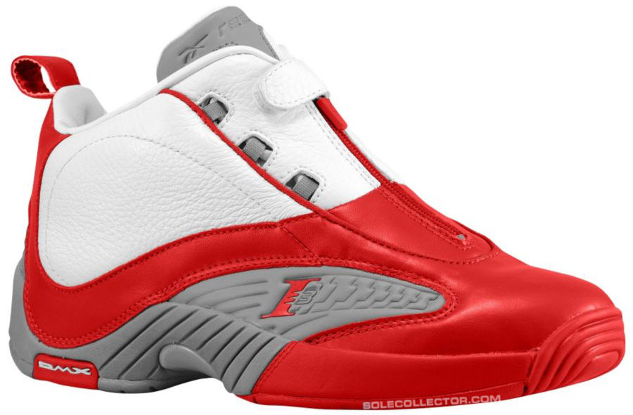 Reebok Answer IV White Red Grey V44403 Release Date