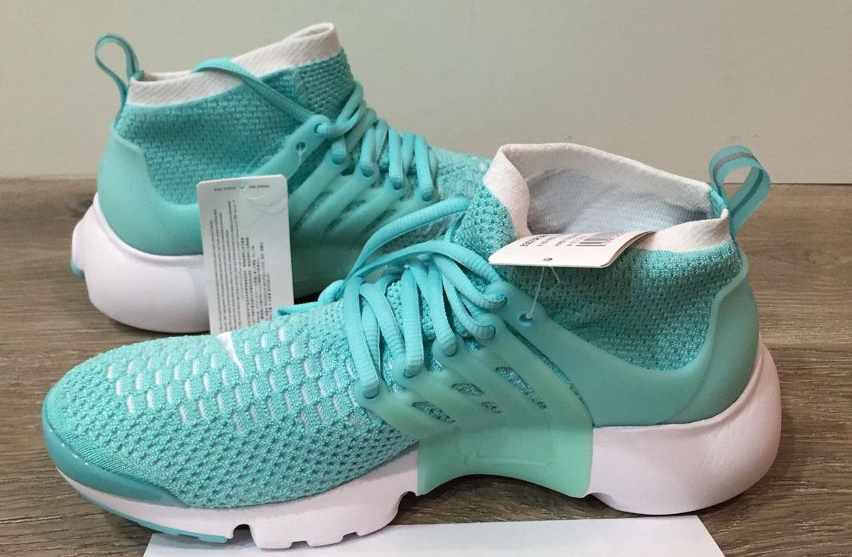 Womens Nike Air Presto 6 Pale Green Grey White