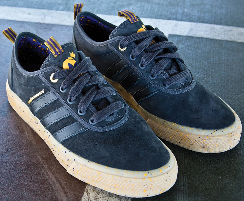 The Hundreds x NBA x adidas adi-Ease ADV Los Angeles Lakers