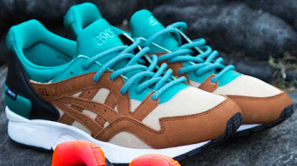 Concepts x Asics Ge-Lyte V Mix & Match Teal