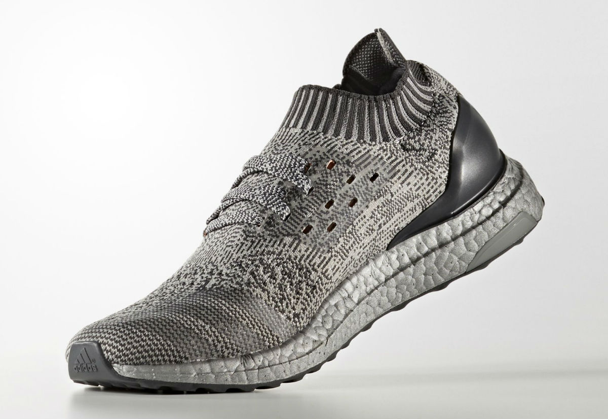 Adidas Ultra Boost Uncaged Metallic Silver Medial BA7997