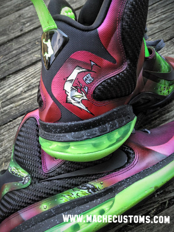 Nike LeBron 9 IX Spawn by Mache Custom Kicks (4)