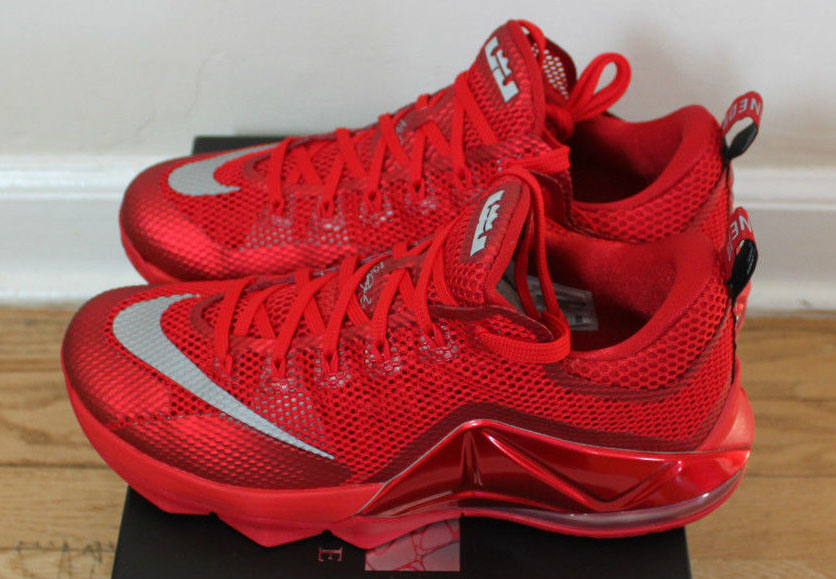purchase cheap 97d3d b86dc Red Is Still In, According To This Nike LeBron 12 Low | Sole ...