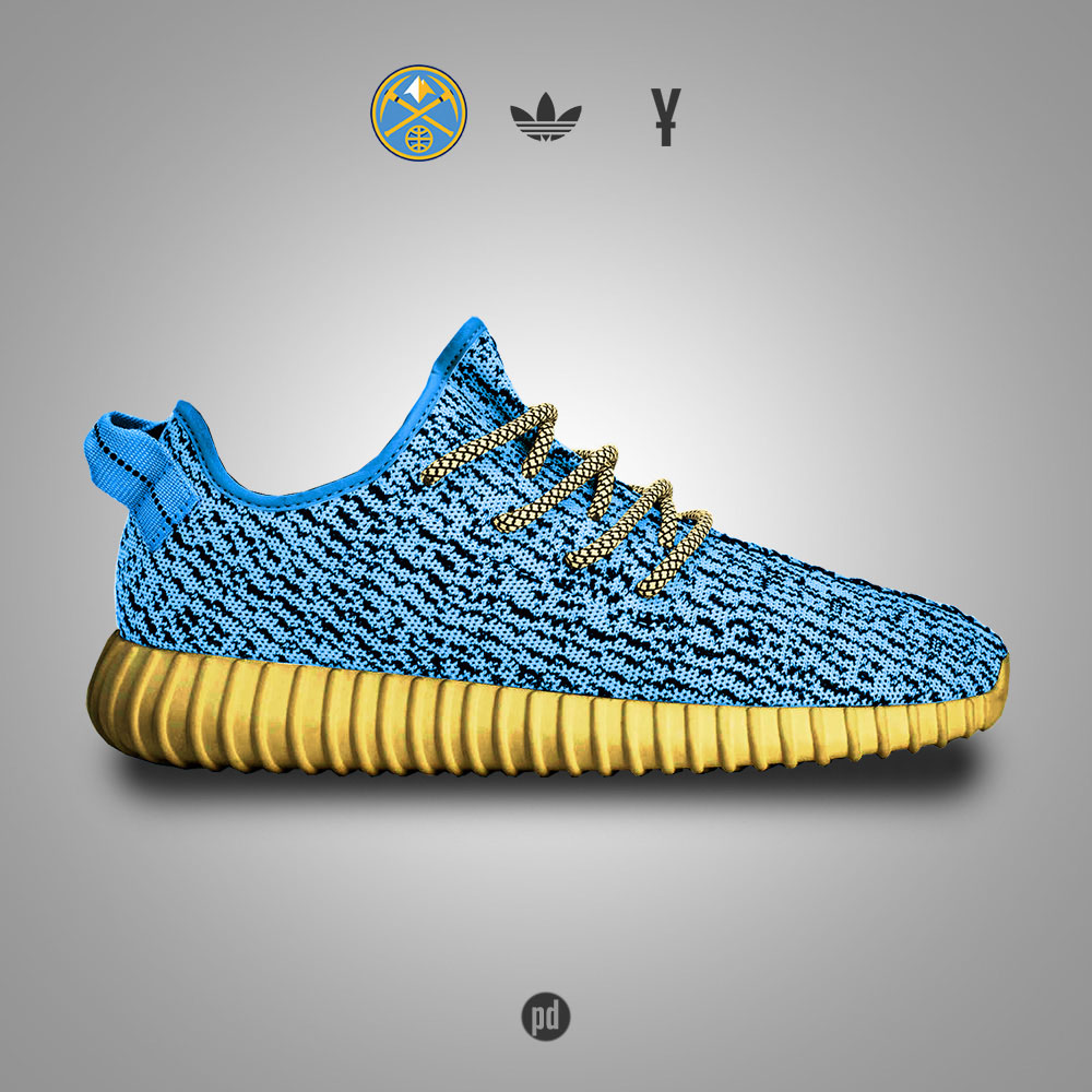 adidas Yeezy 350 Boost for the Denver Nuggets