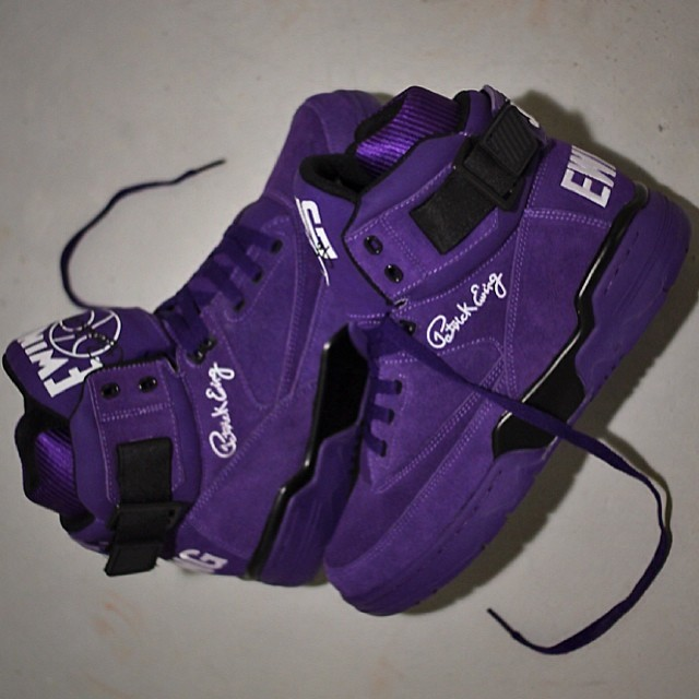 Ewing Athletics 33 Hi - Purple Suede