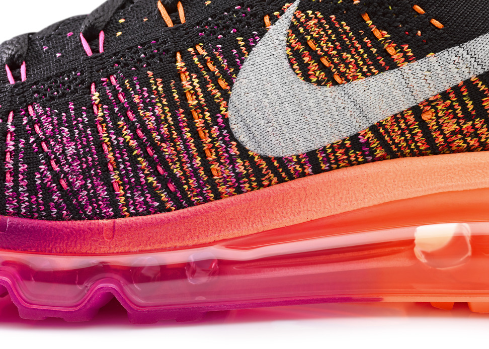 Nike Womens Flyknit Air Max upper