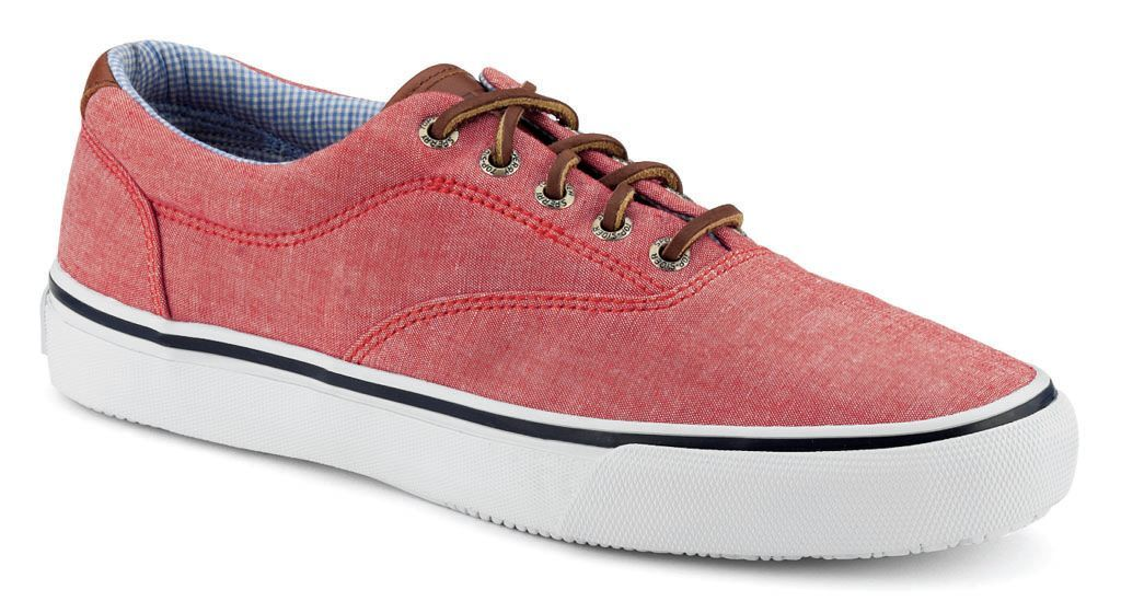 Sperry Top-Sider Chambray Striper CVO - Red
