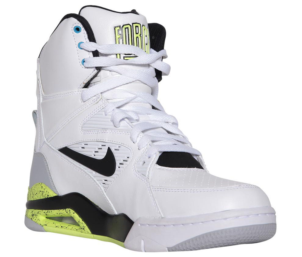 Nike Air Command Force White/Wolf Grey-Volt-Black Billy Hoyle Release Date 684715-100 (2)