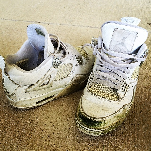 Beat Up Shoes Jordans