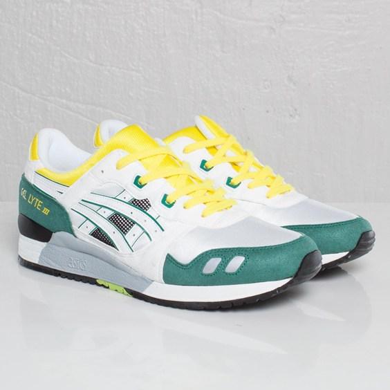 Asics Gel Lyte III White Green Yellow OG Colorway  6427930911
