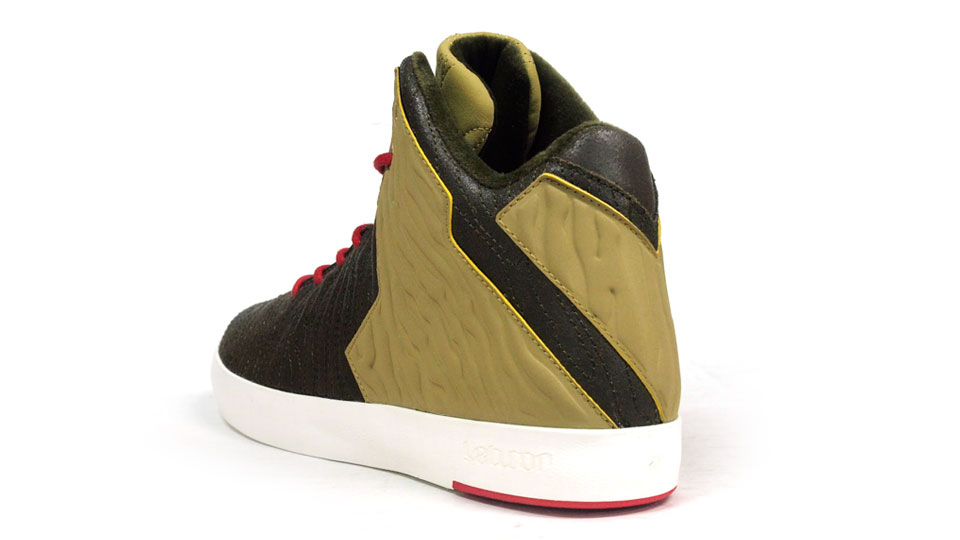 Nike LeBron 11 NSW Lifestyle Kings Pride heel detail