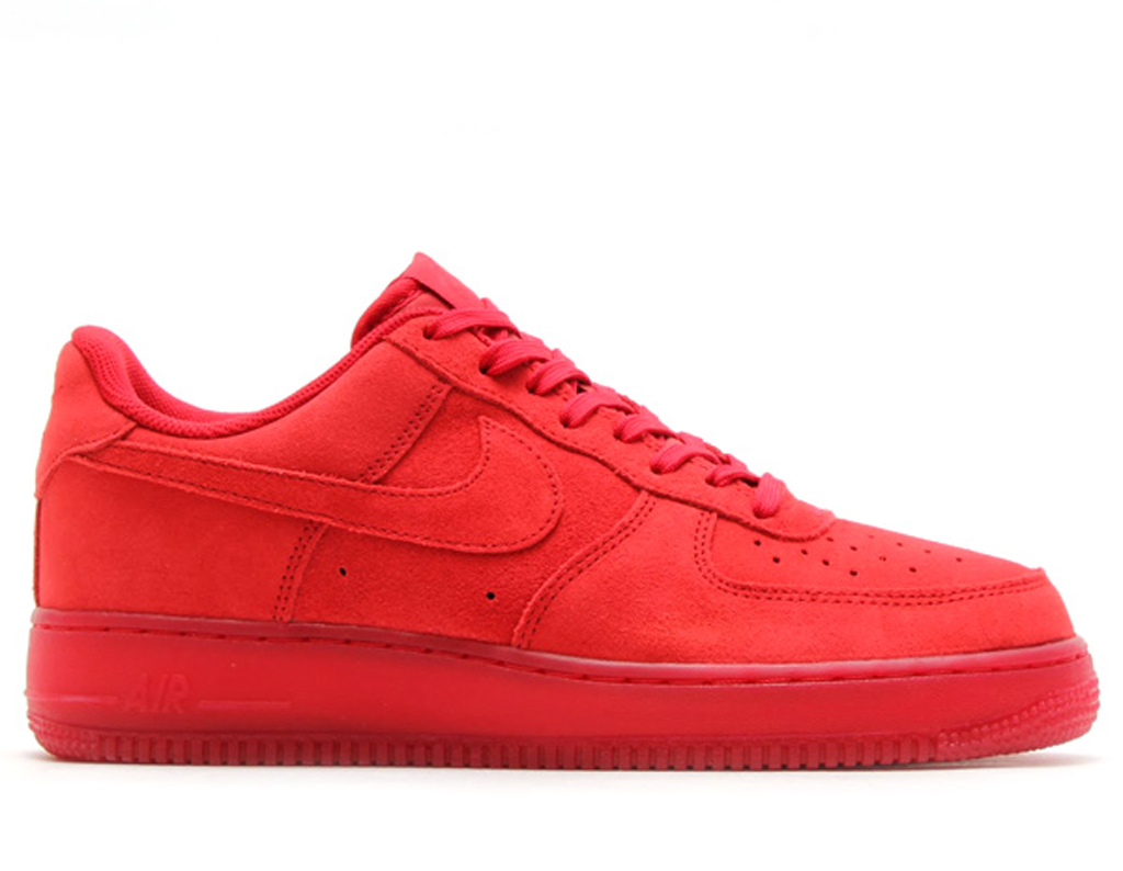 nike red air force 1
