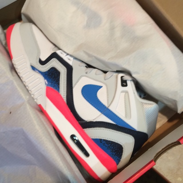 Shane Victorino Picks Up Nike Air Tech Challenge II 2 Photo Blue