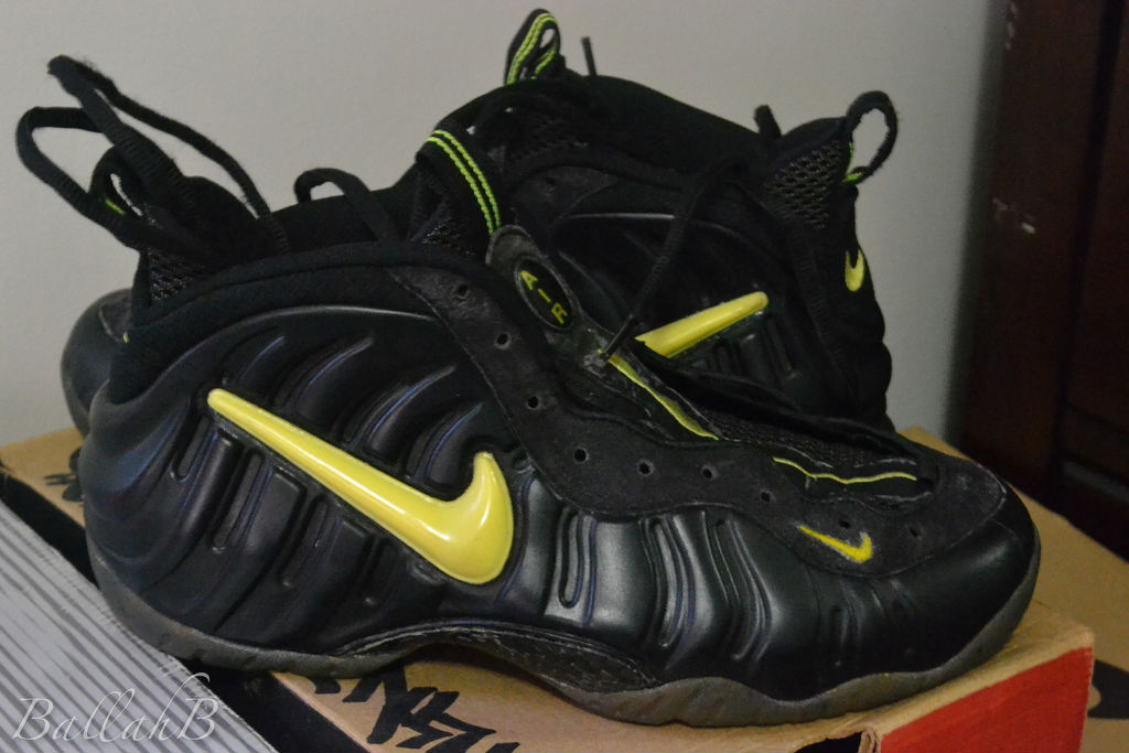 Spotlight // Pickups of the Week 5.19.13 - Nike Air Foamposite Pro Voltage by Ballahb