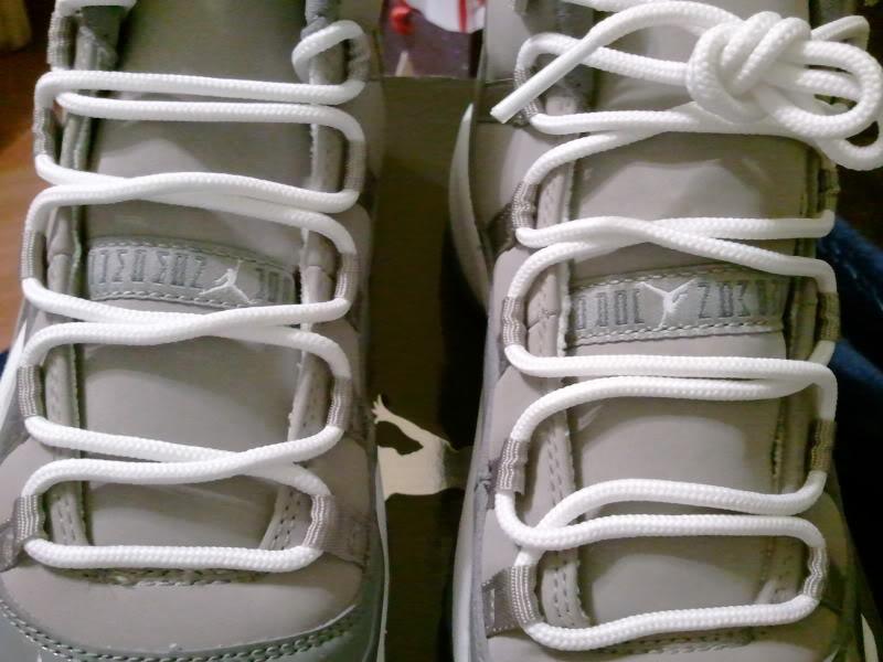 sneakers for cheap 04710 88367 Air Jordan 11 Cool Grey Upside Down  Jumpman Jordan  Tag