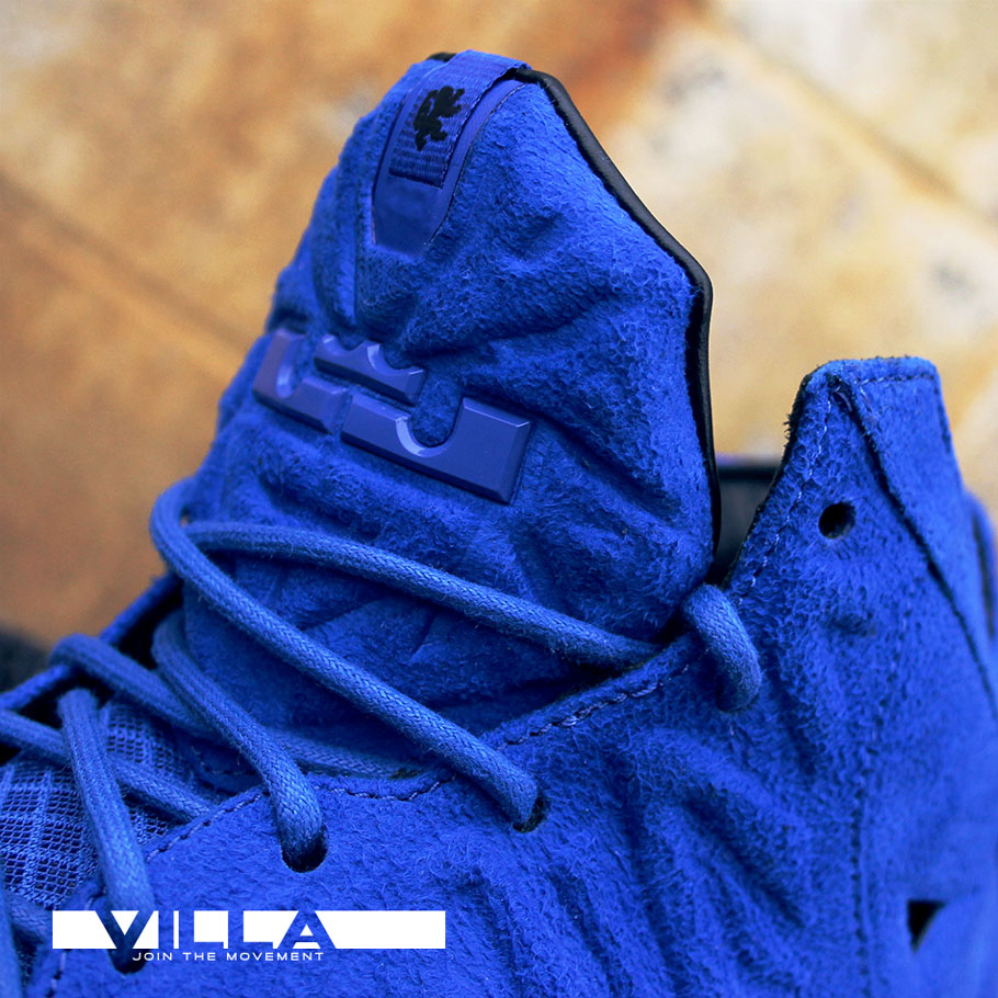 Another Look at the 'Blue Suede' Nike LeBron 11 EXT | Sole ...