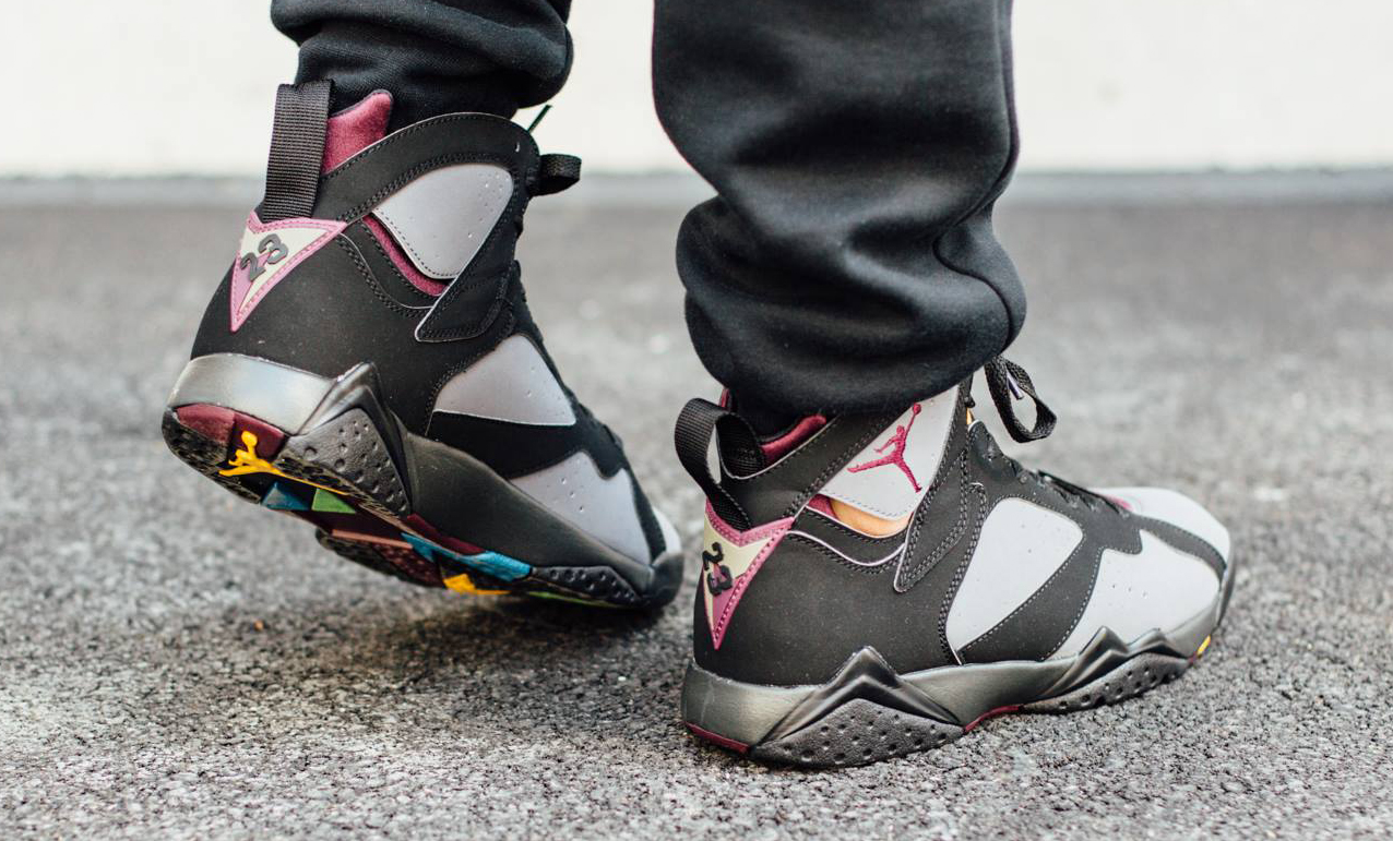 retro jordan 7 bordeaux