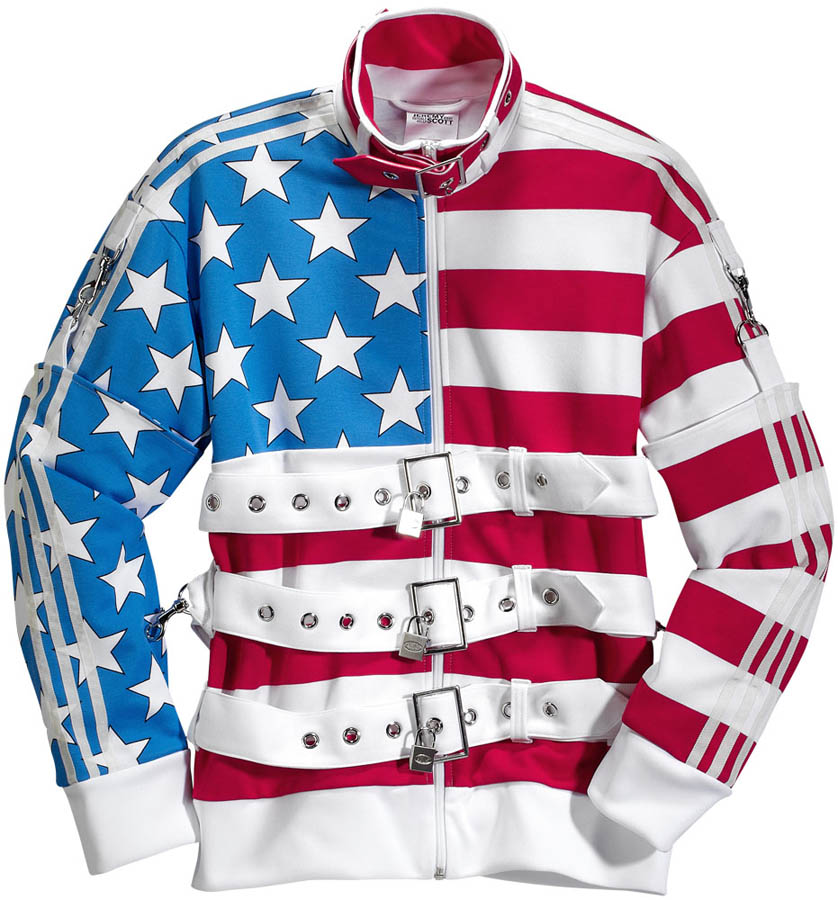 21133b2c2c159 adidas Originals by Jeremy Scott - Spring Summer 2012 - JS Flag TT X30164