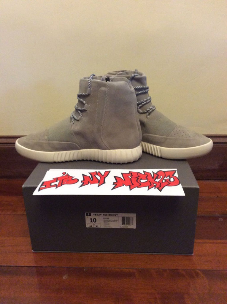 a57302a56dc5 Kanye West Signed   Sketched adidas Yeezy 750 Boost ...