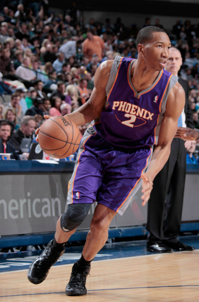 Wesley Johnson wearing adidas Crazyquick Blackout