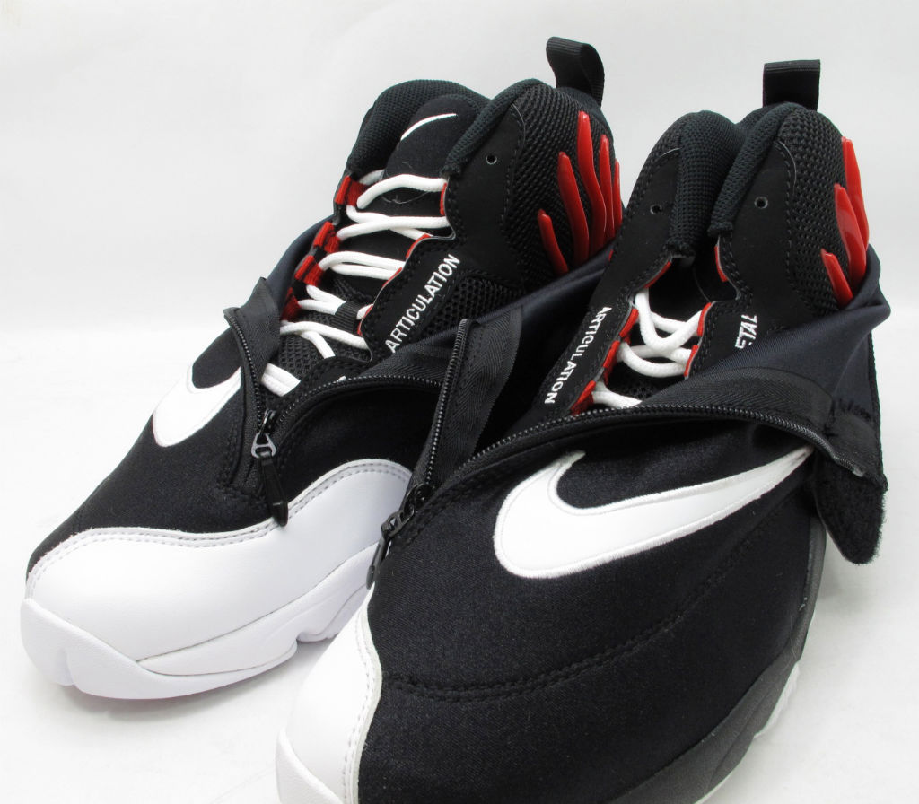 Nike Air Zoom Flight The Glove Black White University Red Release Date 616772-001 (5)