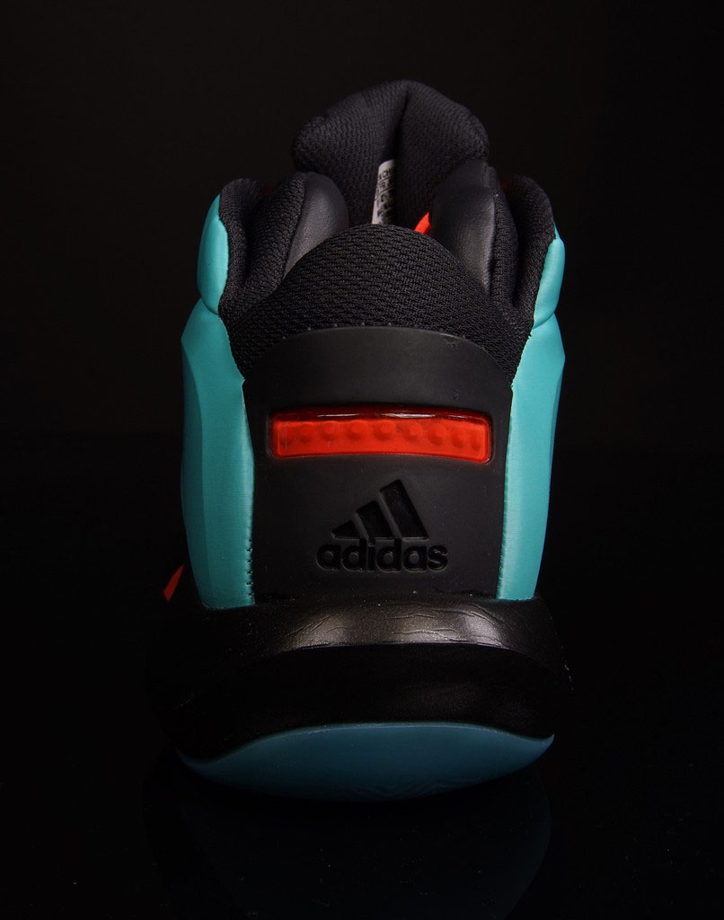 adidas Crazy 1 Vivid Mint/Solar Red (4)