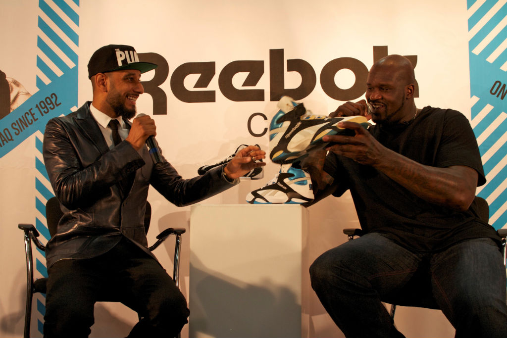 Shaq, Swizz Beatz & Tyga For Reebok Classics At Project (7)