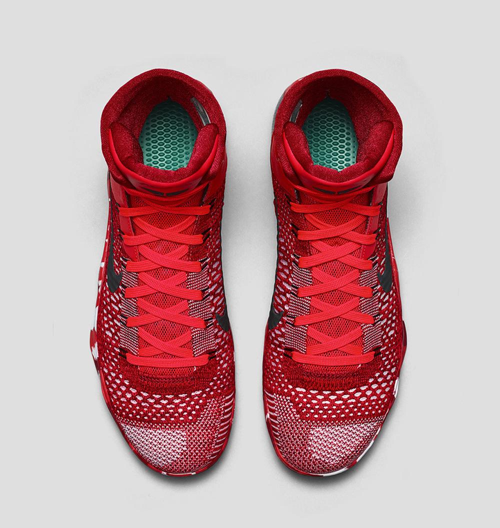 3ae3532da4ac Nike Kobe 9 Elite Christmas Release Date  12 26 14. Color  Bright  Crimson White Black Style    630847-600. Price   225