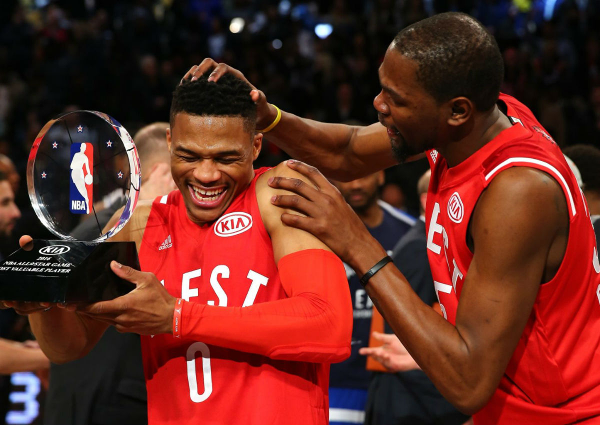 Russell Westbrook 2016 NBA All-Star Game MVP