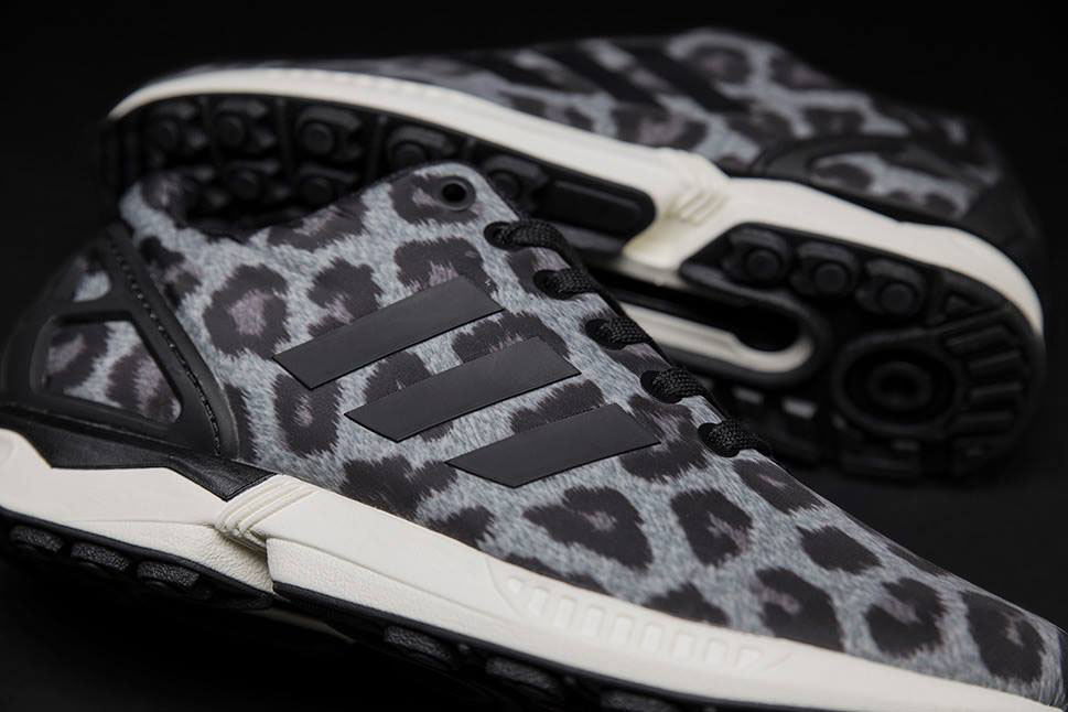 adidas Originals ZX Flux Pattern Pack Exclusive for Sneakersnstuff - Snow Leopard (5)