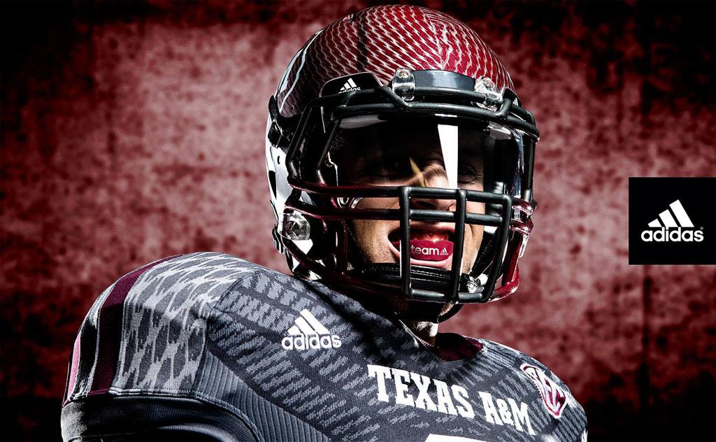 reputable site 9f08c ac4bb Texas A&M Alternate adidas TECHFIT Football Uniforms   Sole ...