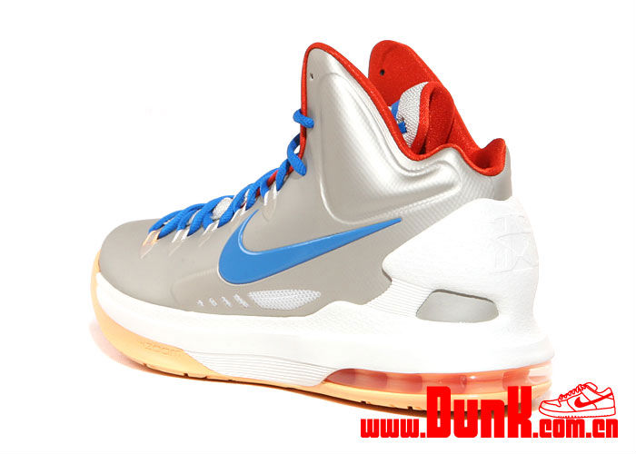 Nike KD V Birch Photo Blue Sail Team Orange 554988-200 (4)