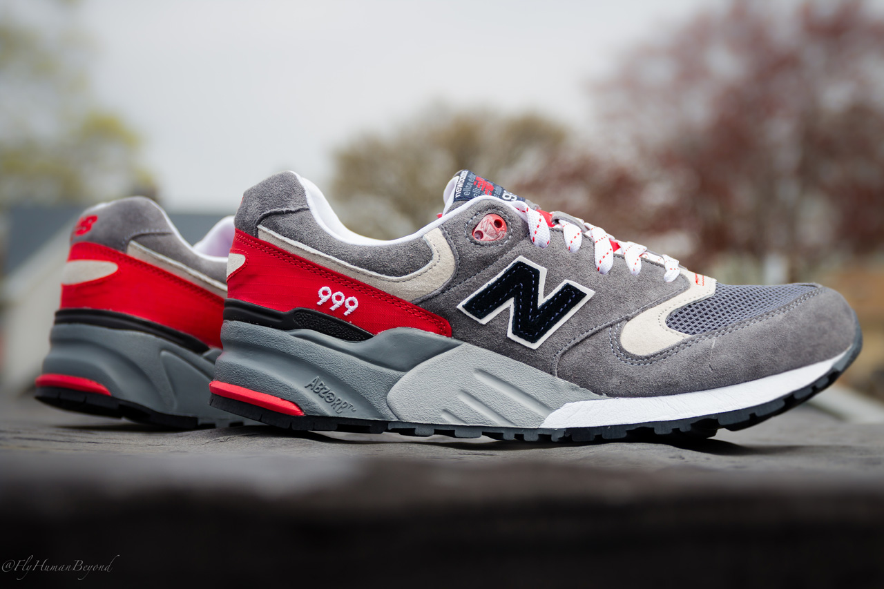 hot sale online f3d3e c9a73 New Balance 999 Elite Edition - Grey/Red | Sole Collector
