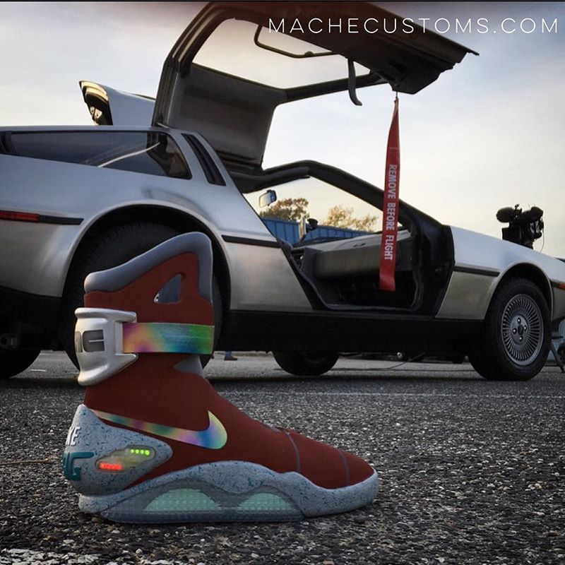 marty mcfly nike shoes