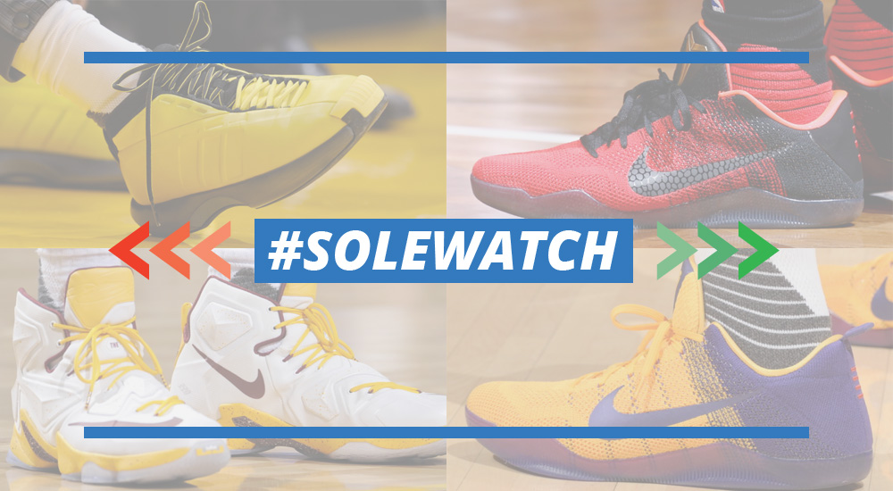 #SoleWatch: NBA Power Rankings for January 10